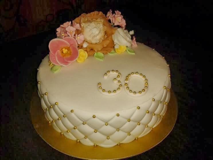 Torta kvetinová 5