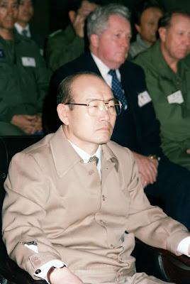 Chun Doo-hwan durante su dictadura militar en Corea del Sur