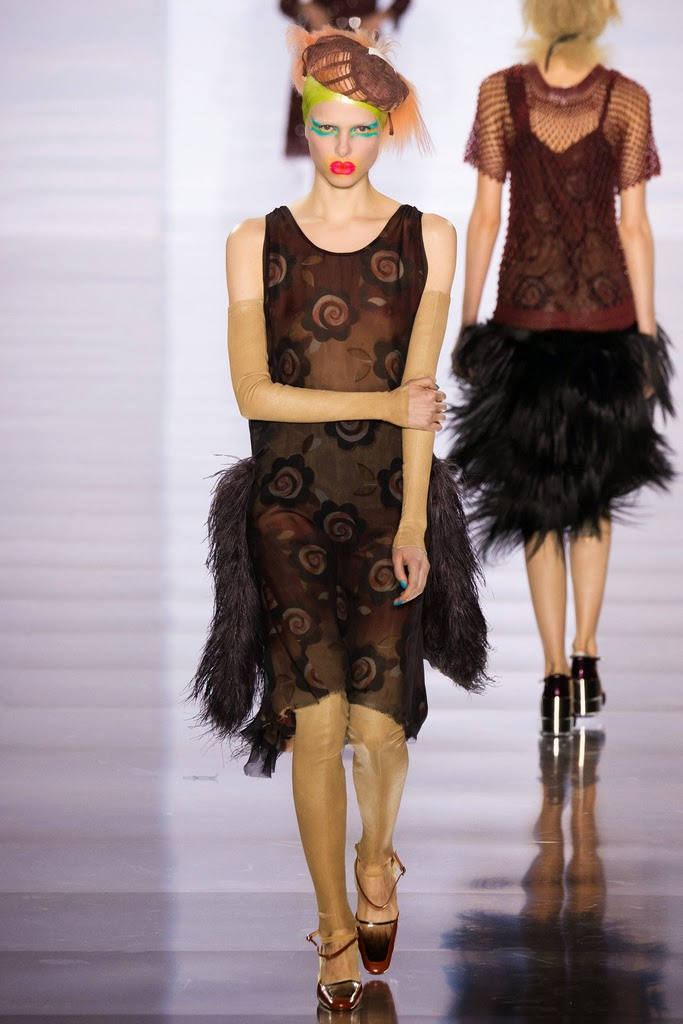 Runway report paris fashion week maison margiela fall for Maison margiela paris