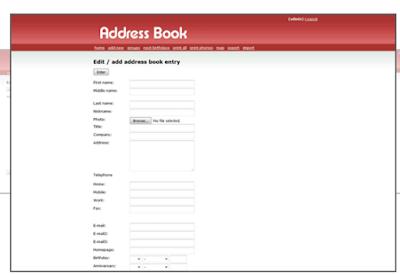 Crea tu libro de visitas web. 1