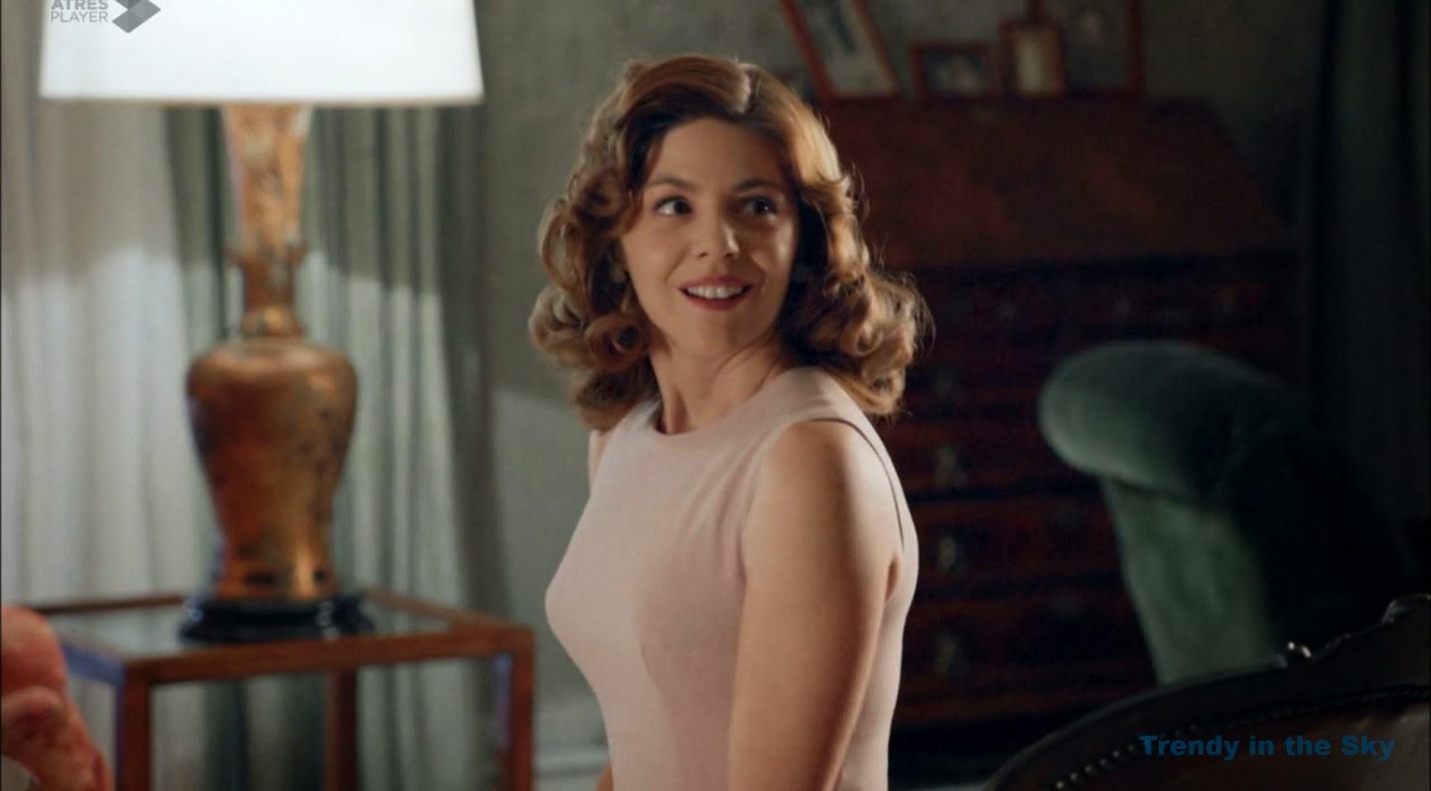 Galerías Velvet Cristina vestido rosa empolvado. Capítulo 1.