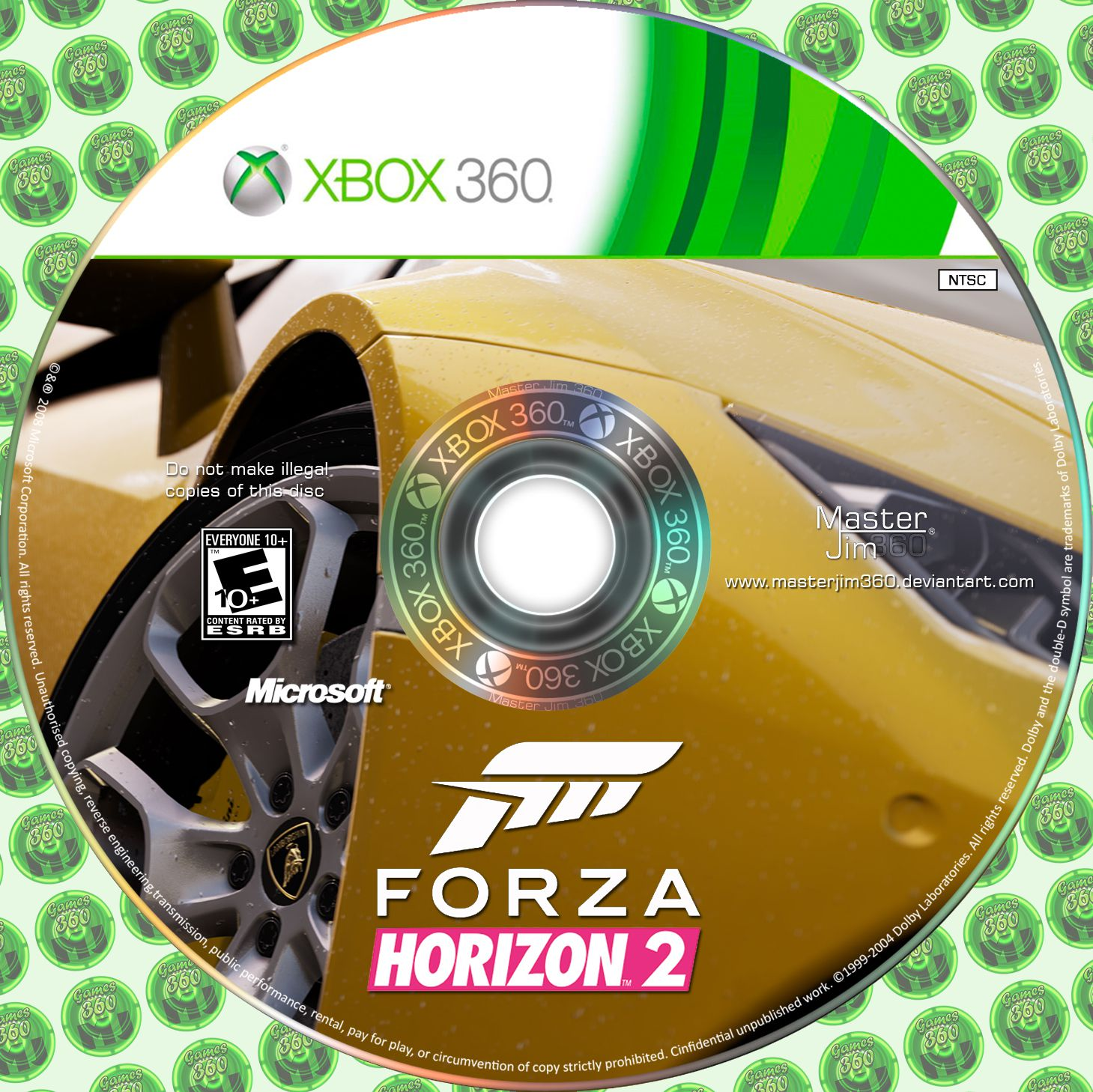 label forza horizon 2 xbox 360 gamecover capas customizadas para dvd e bluray. Black Bedroom Furniture Sets. Home Design Ideas