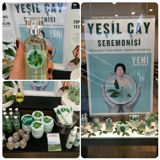 THE BODY SHOP YEŞİL ÇAY SEREMONİSİ- Ankara Lansmanı