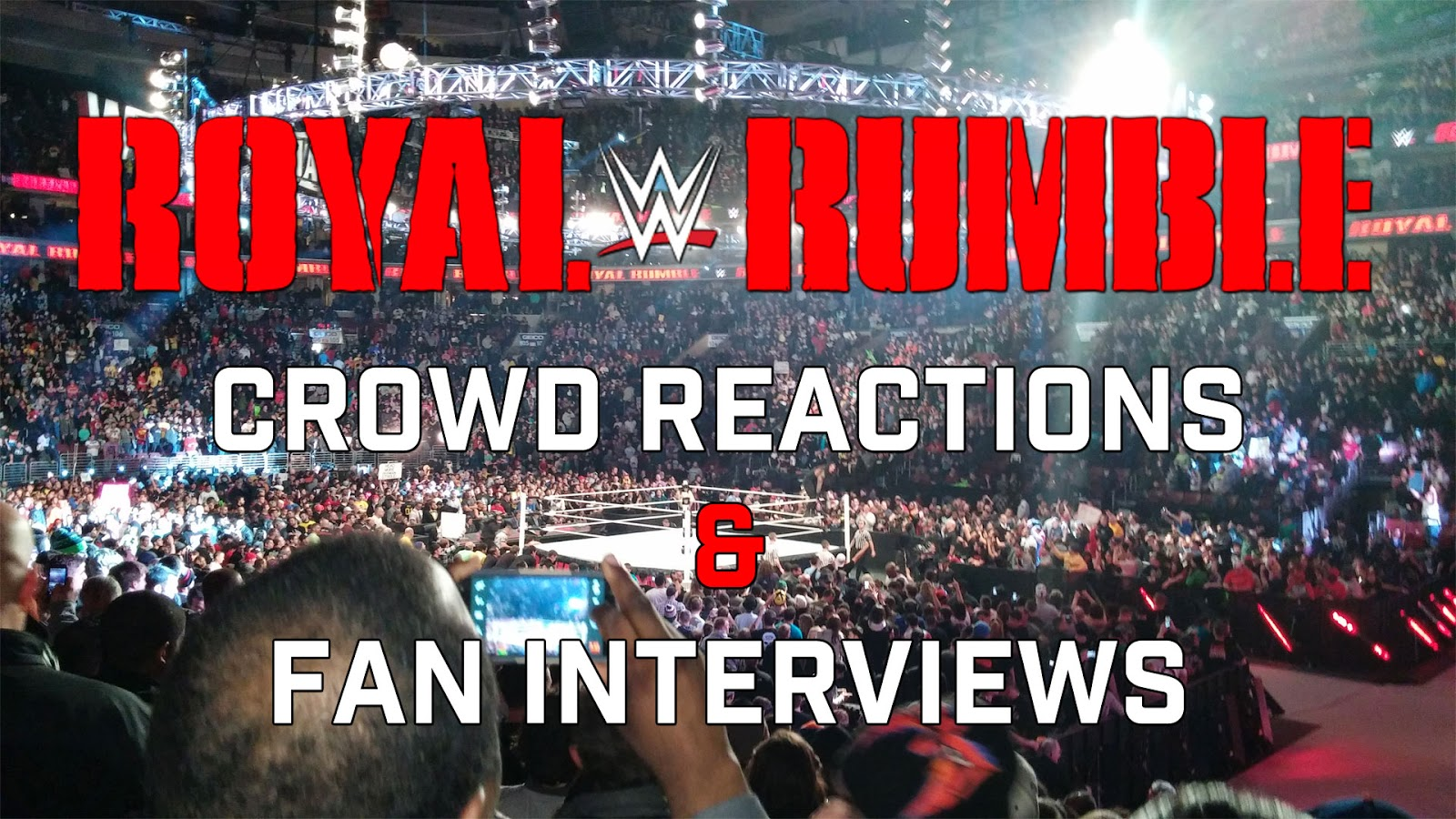 WWE Royal Rumble 2015 Roman Reigns Philly riot