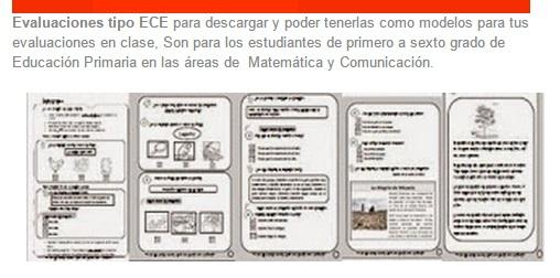 Evaluaciones Tipo ECE - Pruebas Tipo ECE ~ IE: 3043 Ramón Castilla