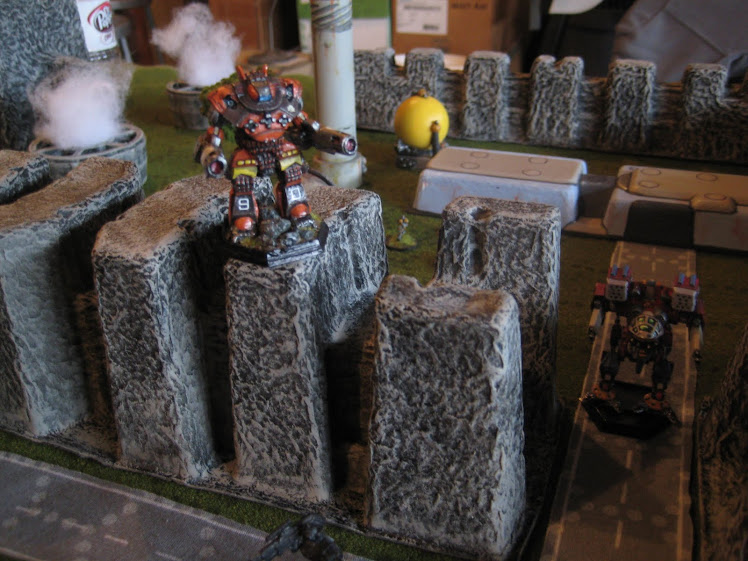 February 2011 Battletech Game