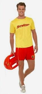 Baywatch David Hasselhoff Costume