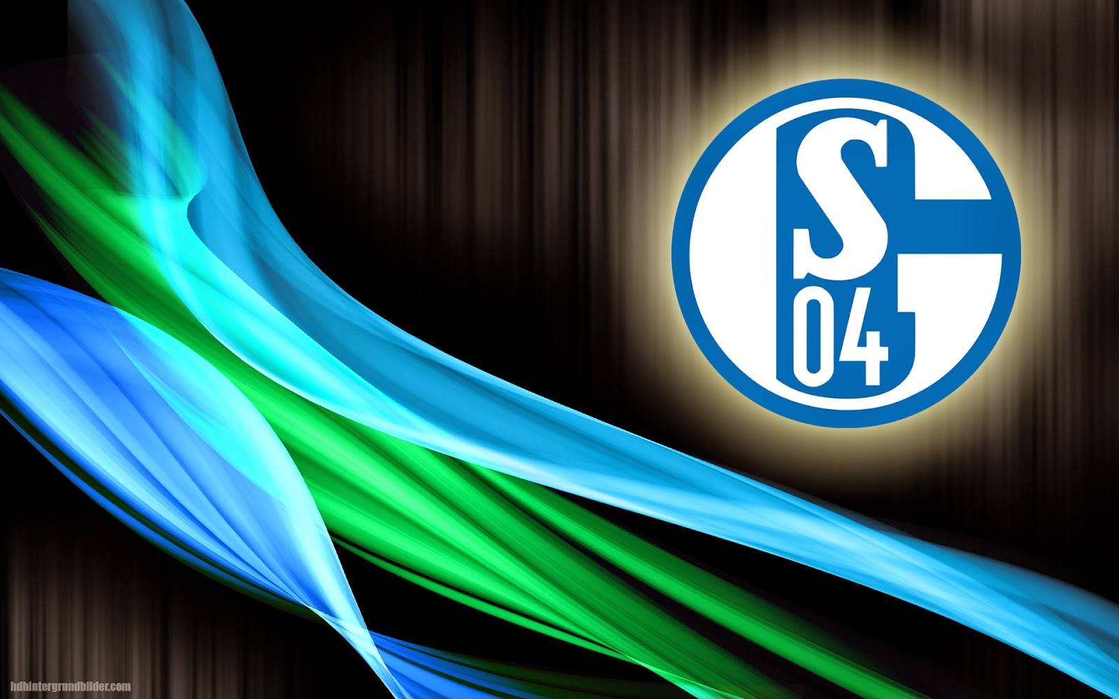 Schalke 04 wallpaper mit logo