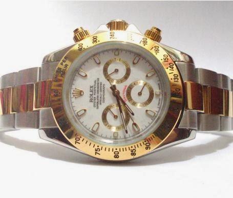 Jam Rolex Daytona Kombinasi Plate Putih