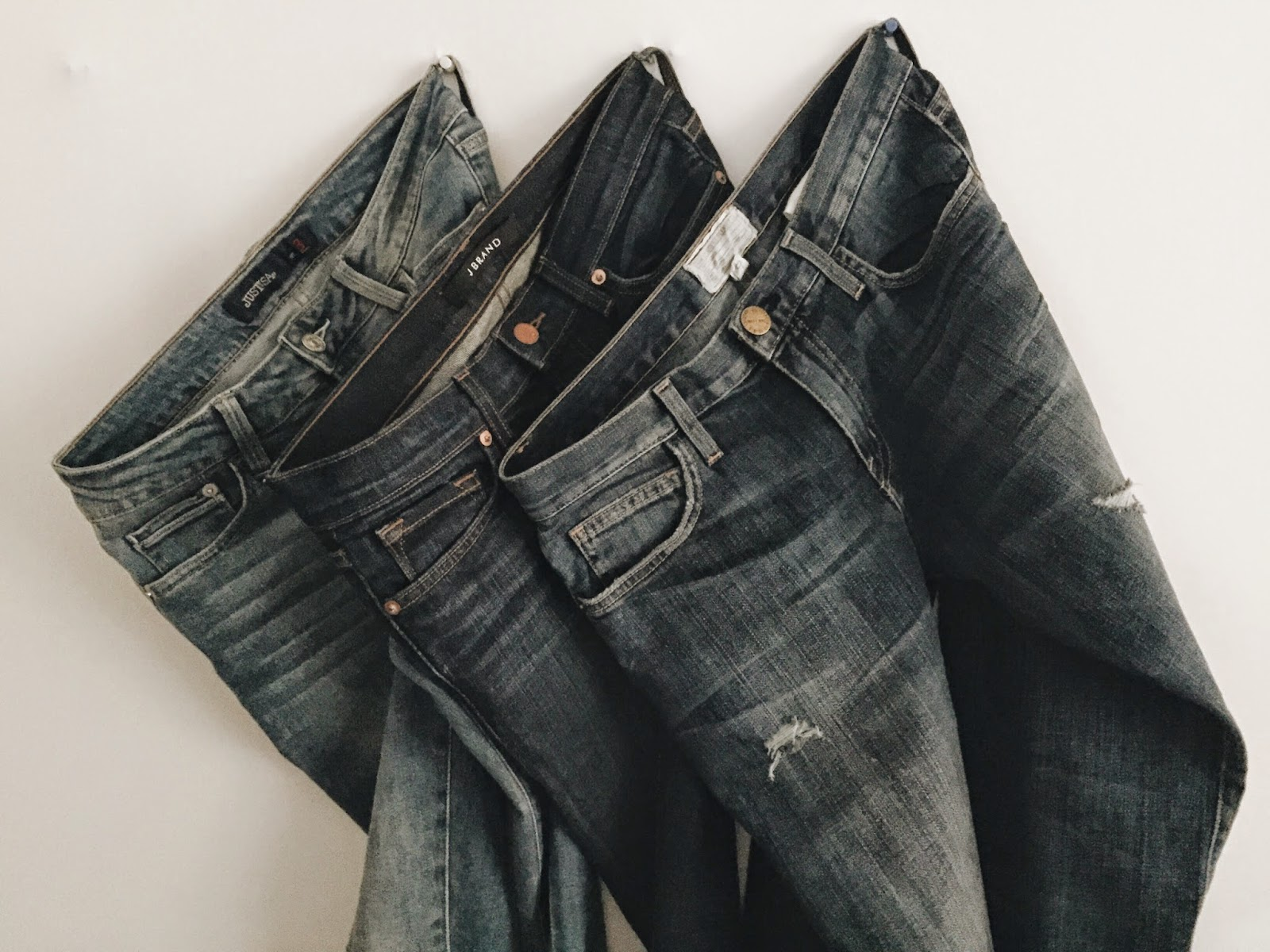 Blue Jeans: Boyfriend Jeans - J Brand Skinny Jeans, Current Elliot Love Destroyed