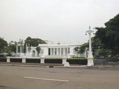 Paskibraka nasional di istana Negara/Istana Merdeka