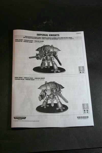 Manual de montaje del Caballero Imperial