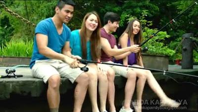 ABS-CBN Ulan SID - Walang Hanggan's Joem Bascon, Melissa Ricks, Paulo Avelino and Julia Montes