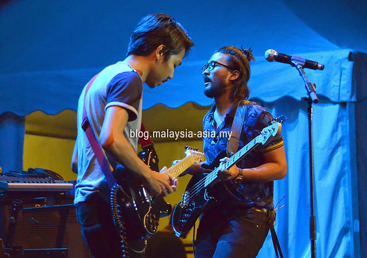 Enterprise Band Live at My Music Festival 2015 Malaysia