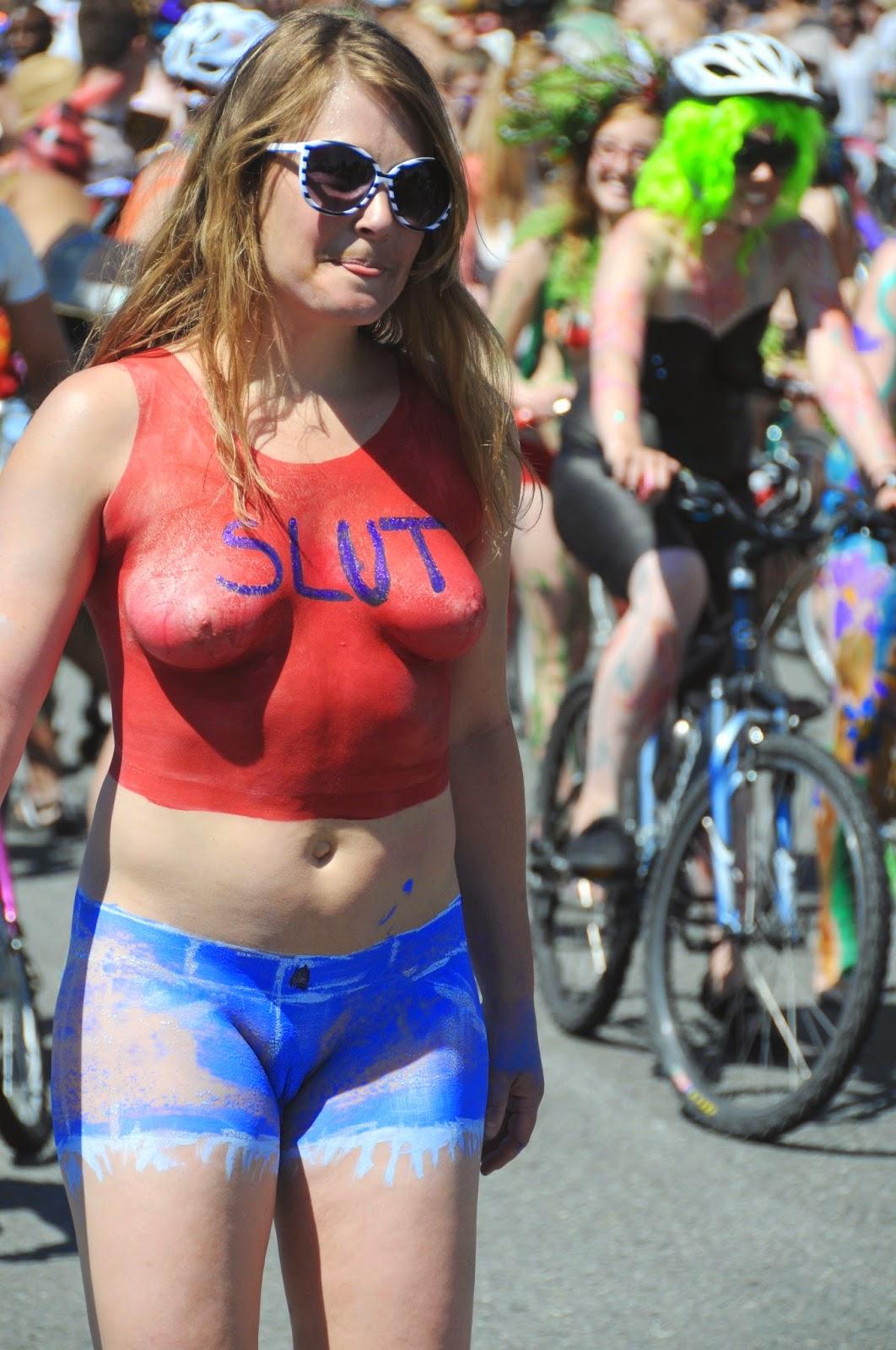 fremont nude Fremont Solstice Parade 2014