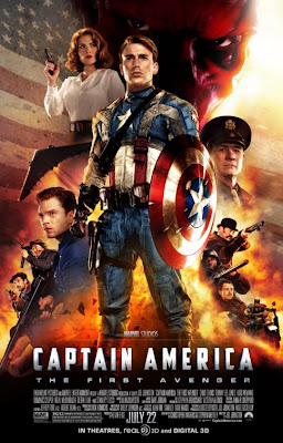 Captain America: The First Avenger Final One Sheet Movie Poster