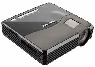 Проектор ViewSonic PLED-W200 - панель разъемов