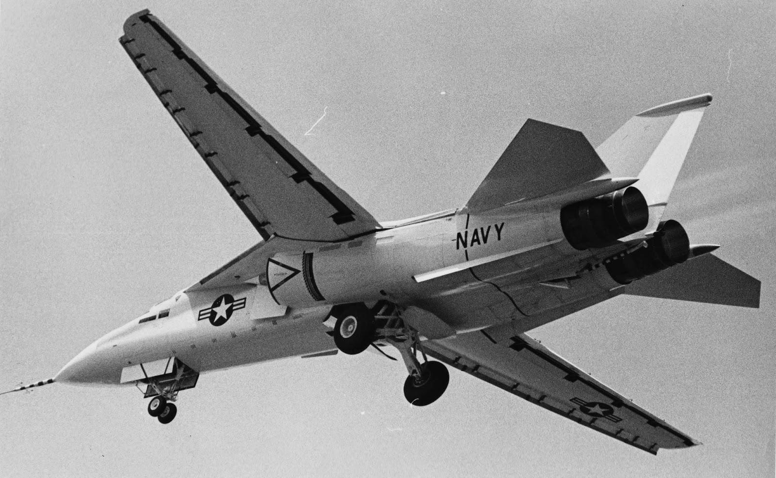 Tailhook Topics: F-111B Envelope Expansion Wing
