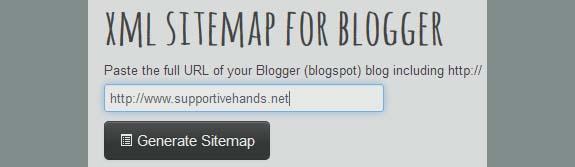 sitemap-generator-blogger
