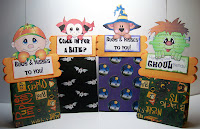Halloween Goodie bag tutorial by Wanda