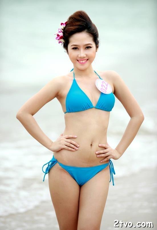 Ngắm ảnh sex bikini hoa hậu VIệt Nam