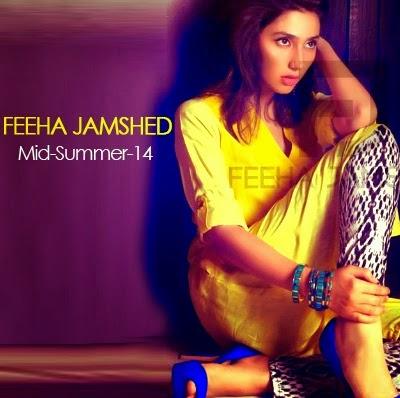 Feeha Jamshed Kurti Blouse Prets