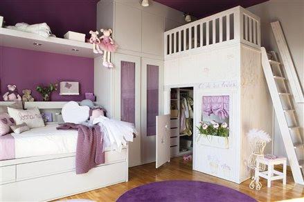 Blog o wn trzach dla dzieci inspiracje lawendowy pok j - Fotos de habitaciones infantiles ...