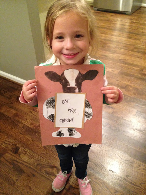 The Little Things blog: Chick-Fil-A cow