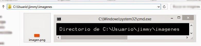 Ruta de directorios Windows