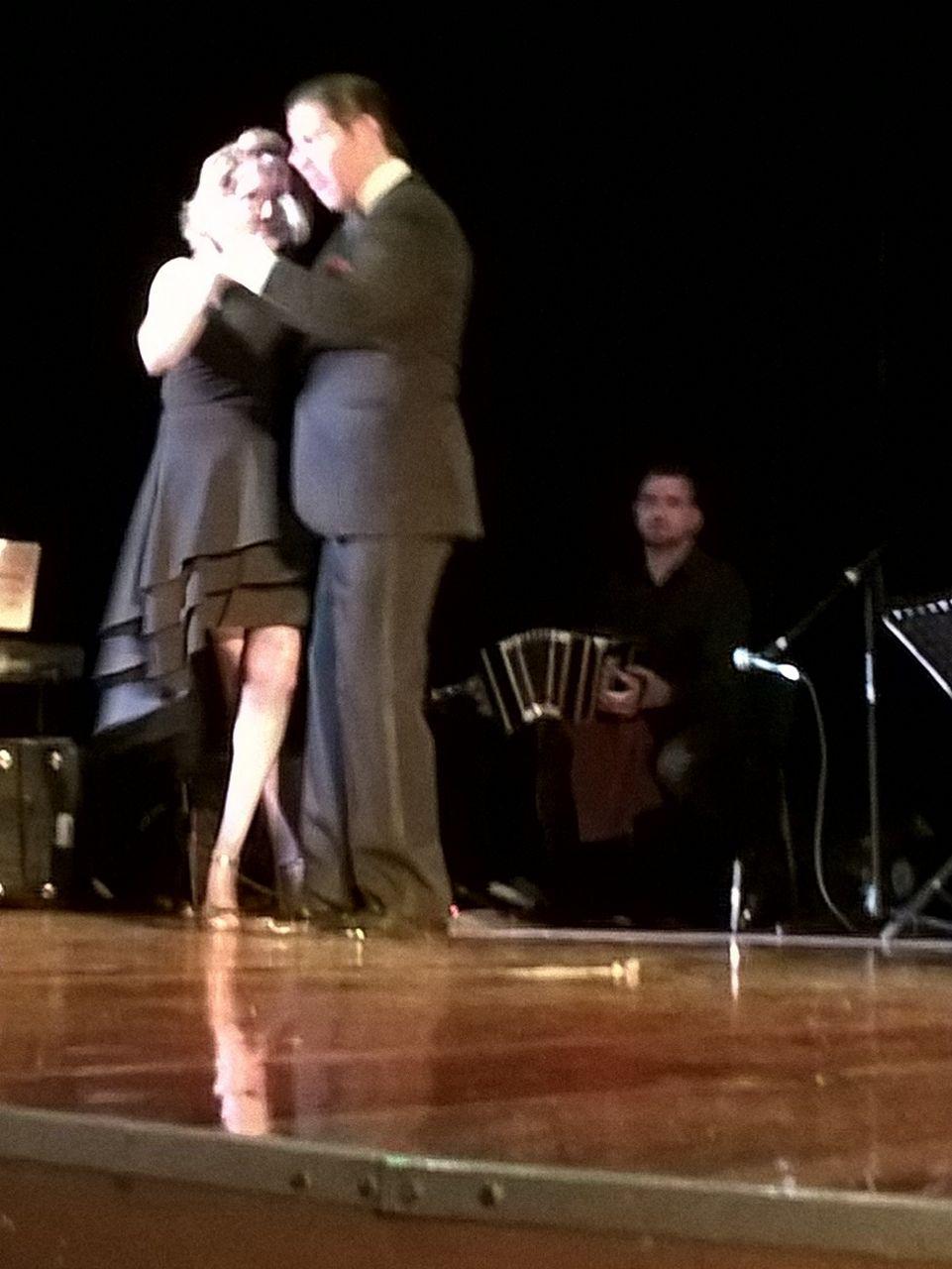 Alma Ortiz y Freddy Potenza
