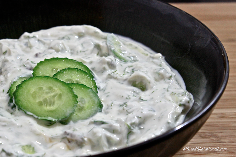 WELCOME: Persian Yogurt Cucumber Dish (Mast-o Khiar)