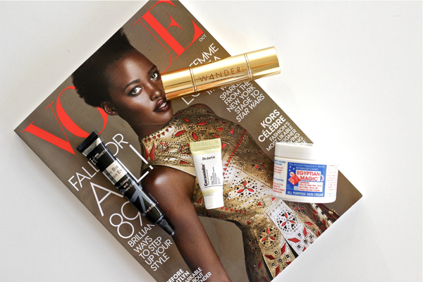 Beauty Buys Lately, Vogue, Beauty, Products, Dr. Jart, IT Cosmetics, Wander Beauty, Egyptian Magic, Review