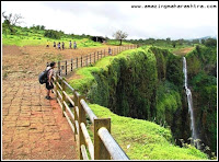 beautiful waterfall Amboli
