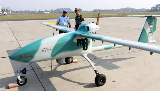 UAV Heron dan Wulung Berkolaborasi Amankan Perbatasan NKRI