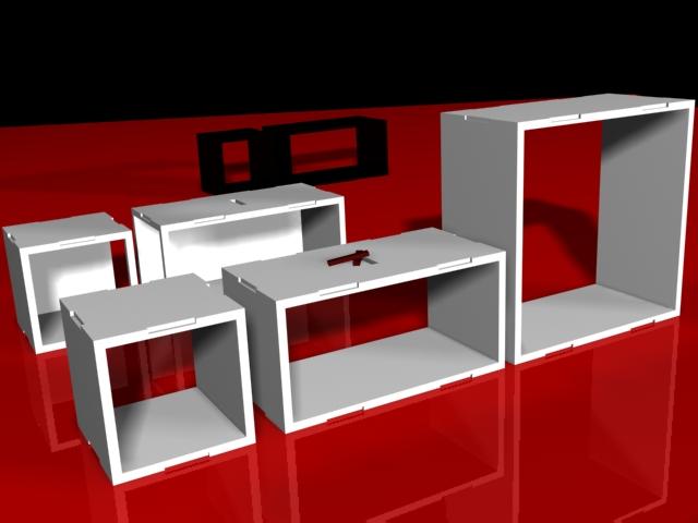 Reno Diseño Industrial Mueble Modular