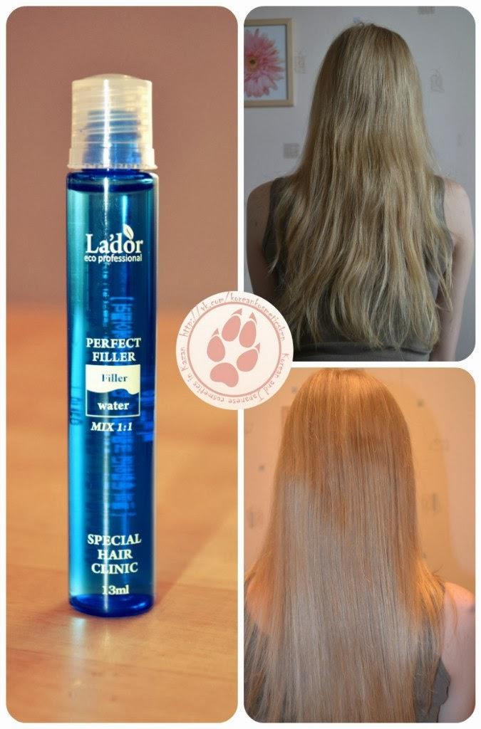 Жидкий кератин для волос в ампулах