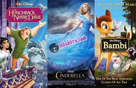 tokoh-tokoh film Walt Disney yang tanpa seorang ibu