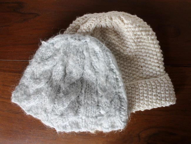 Free Knitting Pattern Chunky Knit Hat : Lula Louise: Chunky Cable Knit Hat with Free Pattern