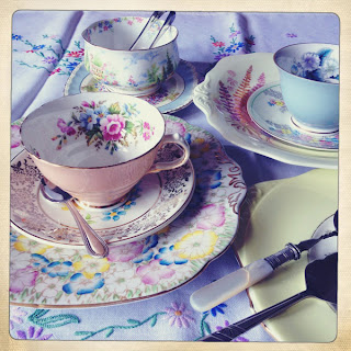 Vintage crockery from Hire Vintage Teasets