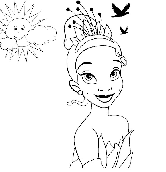 All Disney Princess Coloring Pages Print Out