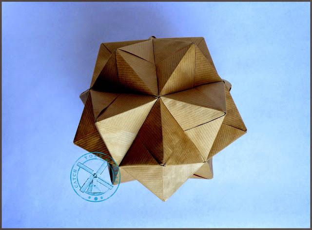 origami modułowe, modular origami, sonobe, modul sonobe, origami modulowe, model, model origami, kolczataka origami, jezyk origami