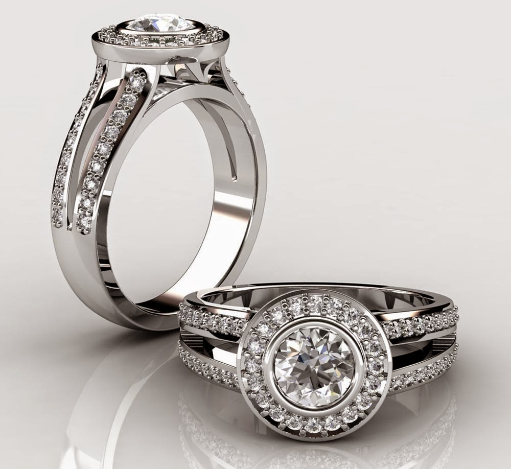 Expensive Silver Diamond Wedding Ring Sets for His and Hers Pictures HD