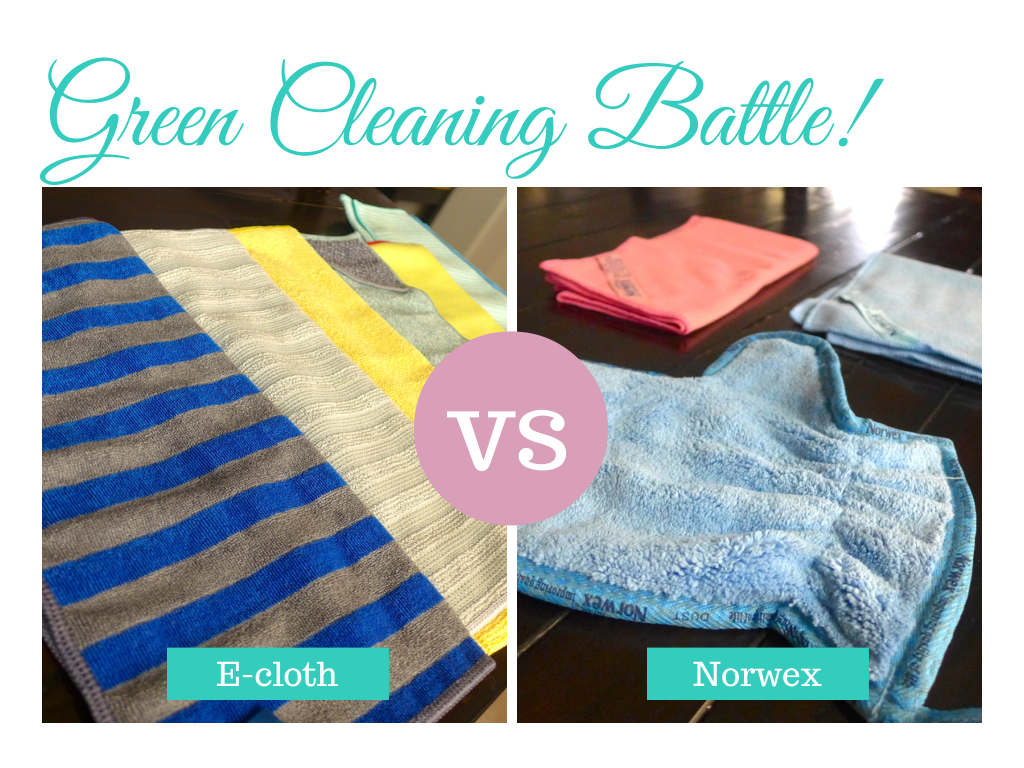 Norwex vs E-cloth #Cleaning  #savetheplanet