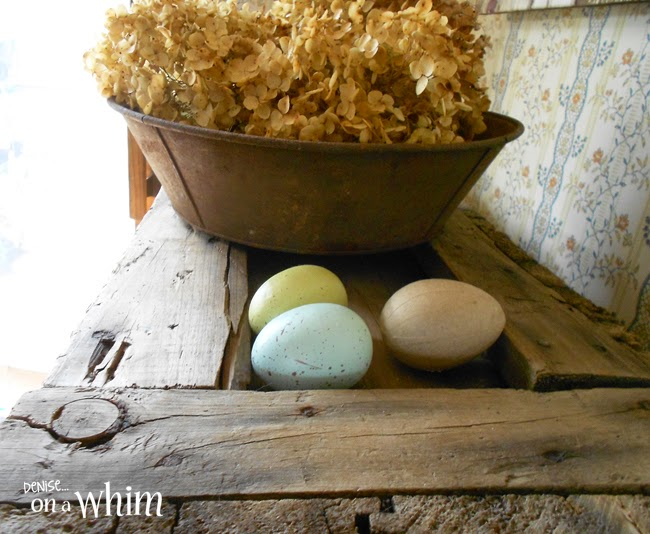 Speckled Eggs and Hydrangeas | Denise on a Whim