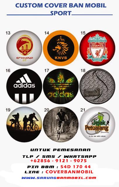 Sarung Ban Mobil Custom Club Sepak Bola