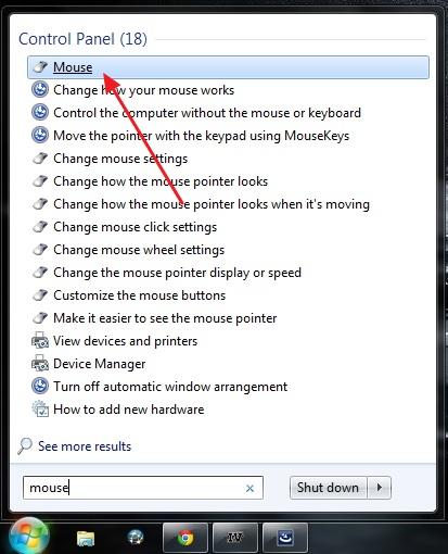 Cara Mengganti Kursor Mouse di Windows 7