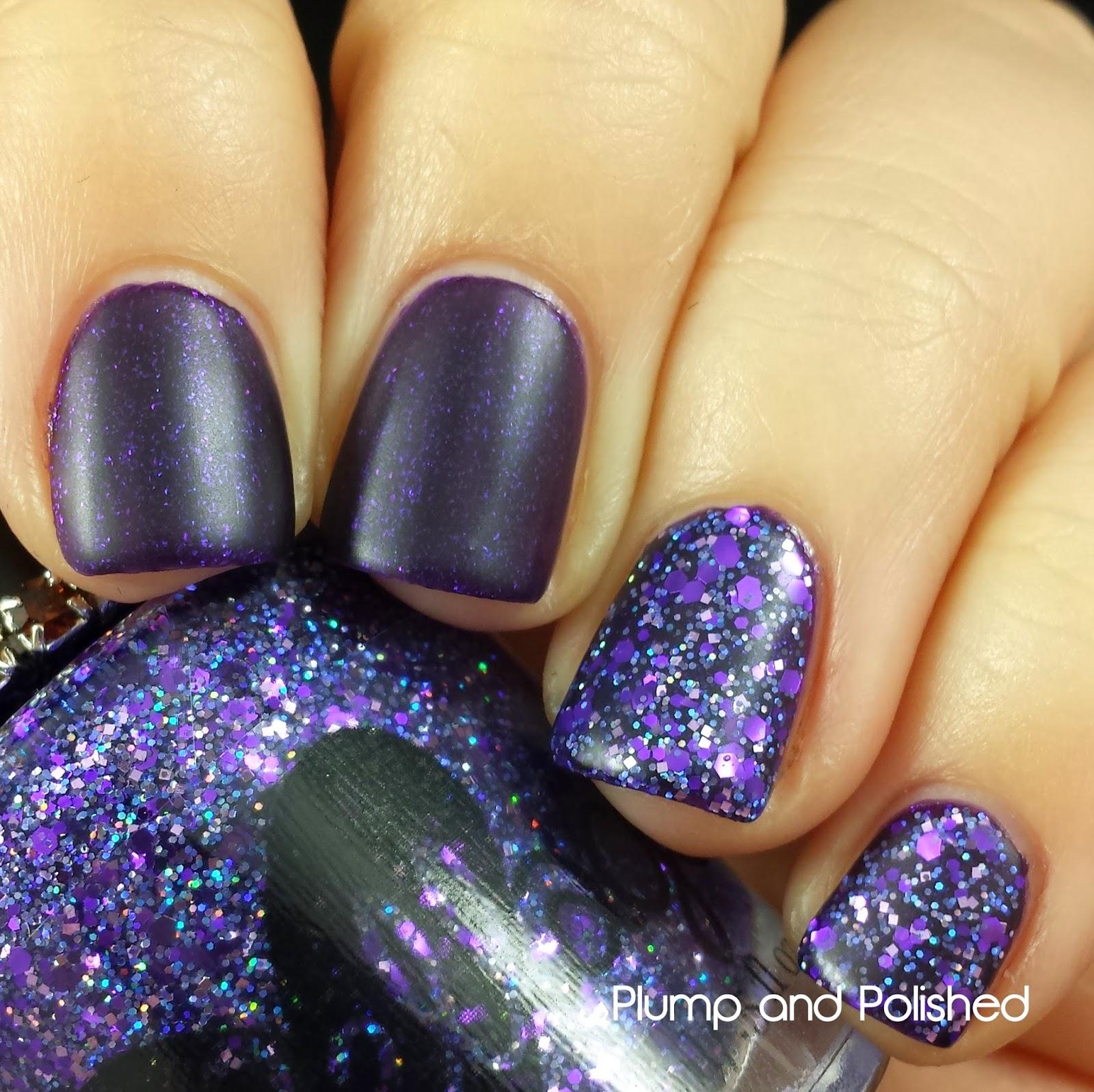 ellagee - Sparkling Gemstones: Glimmering Amethyst and Crushed Amethyst