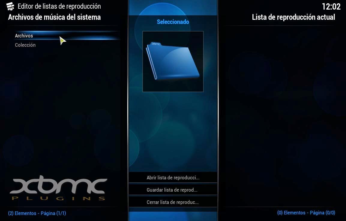 Iniciar XBMC Automáticamente con Música