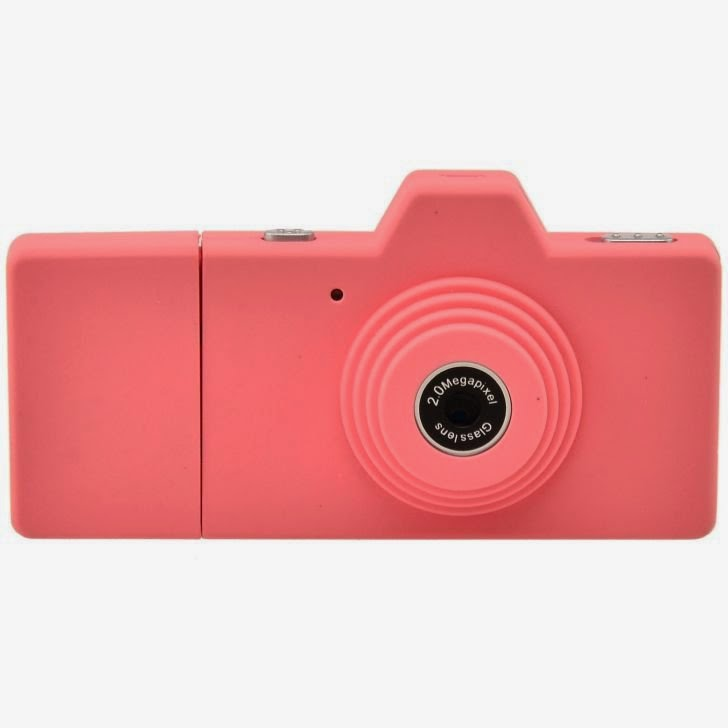 Eazzzy Mini Camera - 2 MP - Pink