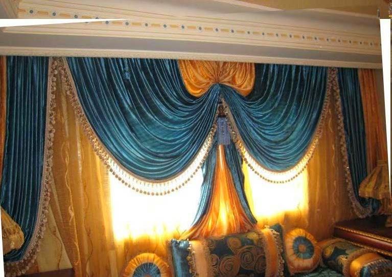 Décoration salon marocain: Rideaux occultant style marocain